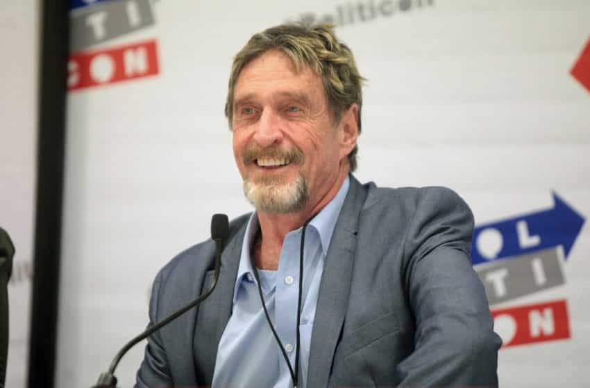 U.S. Entrepreneur-John McAfee to Lead 2020 Presidential Campaign after Alleged IRS Indictment