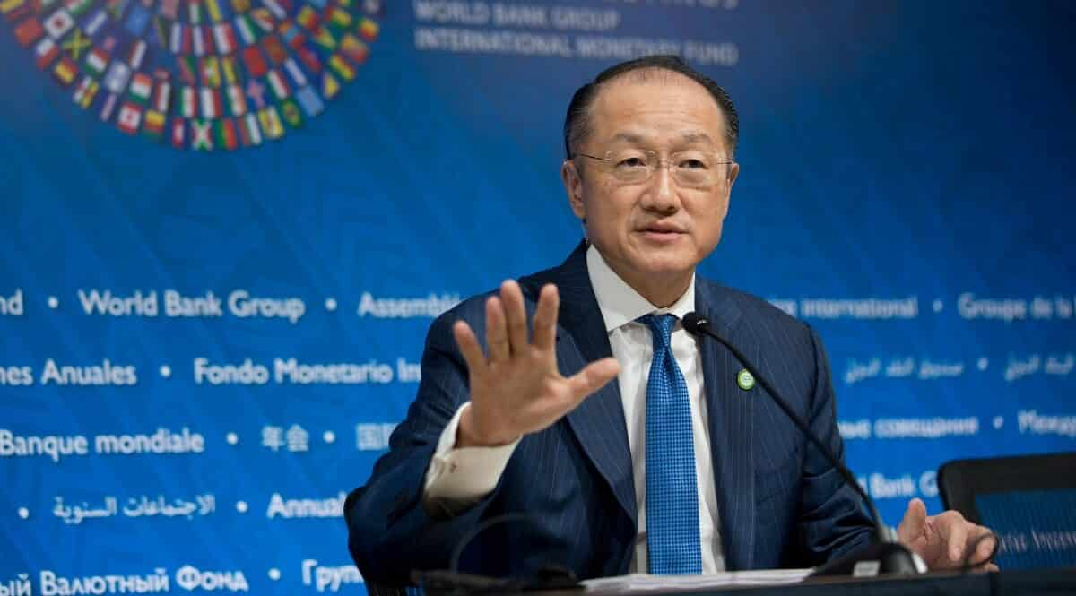 World Bank Chief Jim Yong Kim Announces Departure