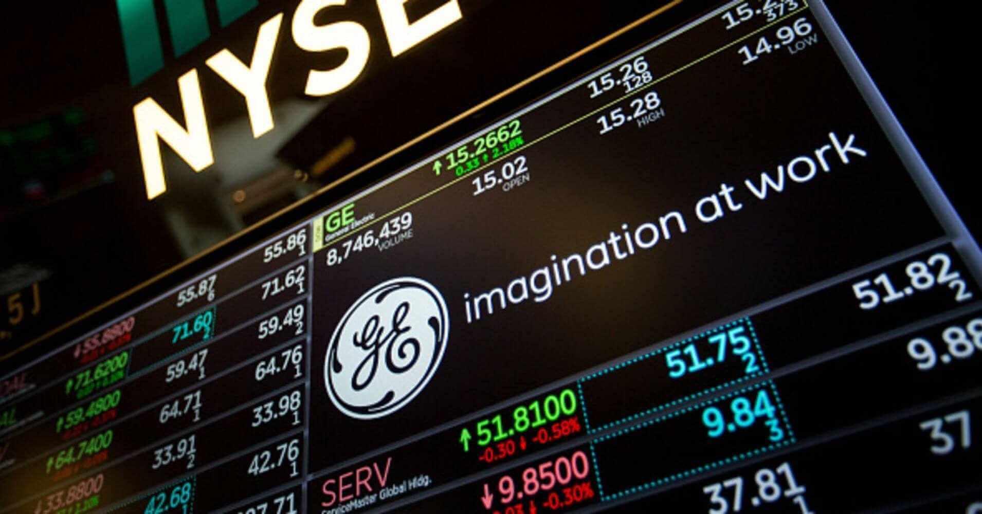 GE Shares Fall