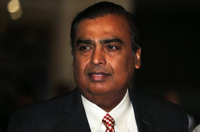 Mukesh Ambani Enters the Top Ten List of Worlds Richest Man