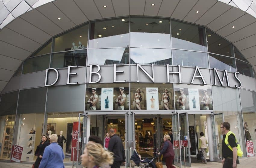 British Retailer Debenhams Goes Into Administration
