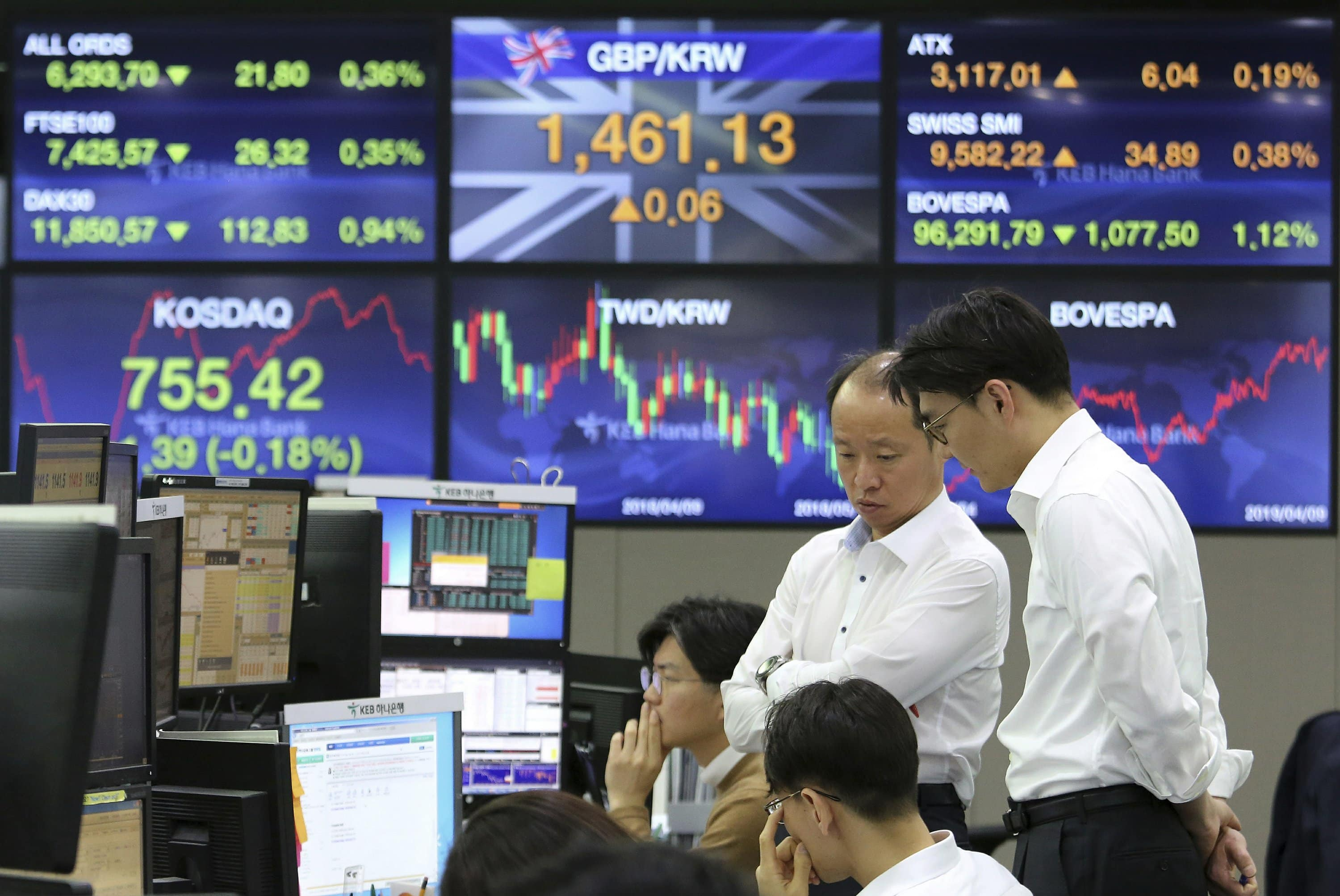 US-China Trade Talks In A Stalemate: Asian Shares Fall