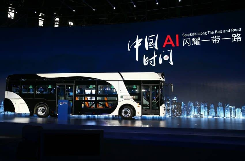 DeepBlue Autonomous Bus