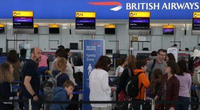 IT Glitch in British Airways
