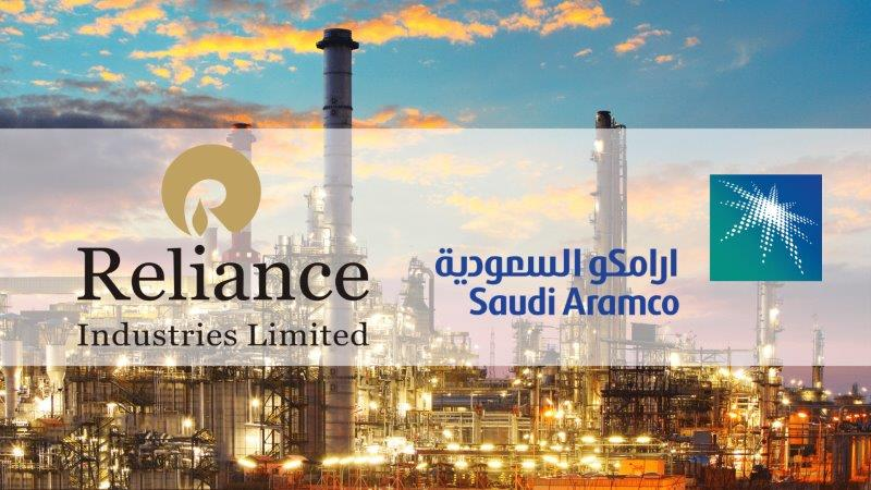 Saudi Aramco Agrees to Acquire 20% Stake in Reliance Oil Refinery Business and Values it at $75 Billion