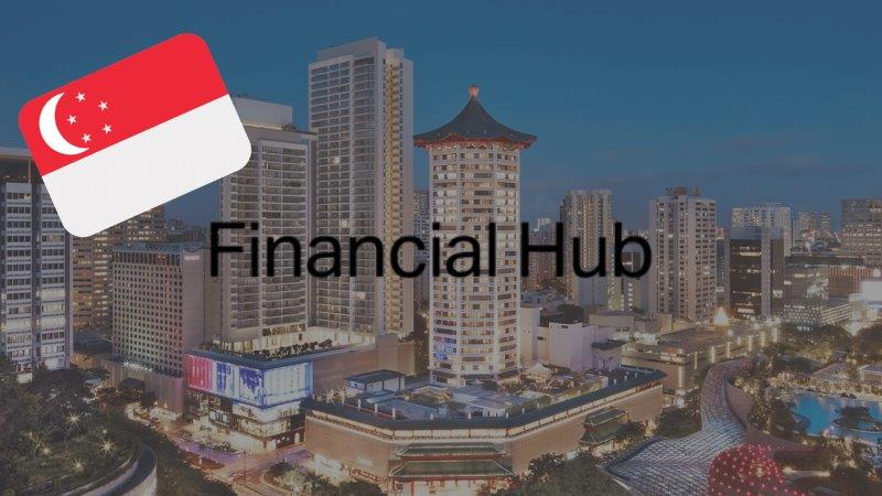 Singapore financial hubs