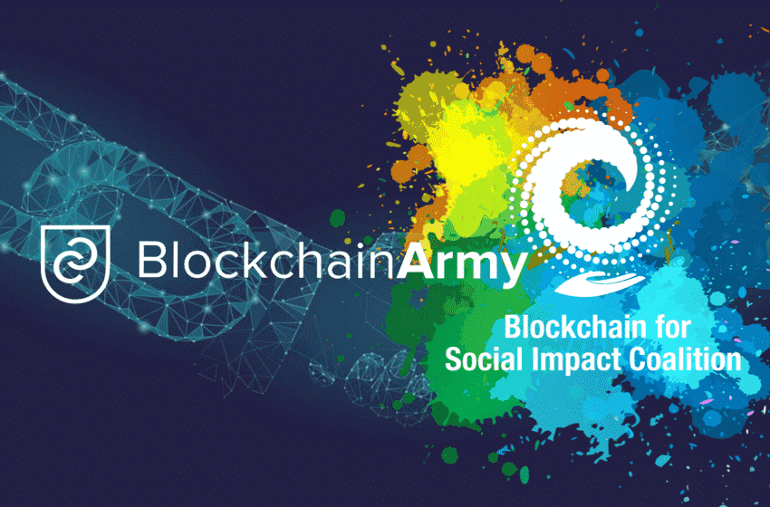 BlockchainArmy Joins Blockchain for Social Impact Coalition