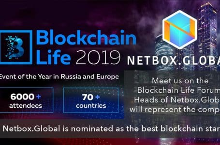 Netbox.Global to Sponsor Blockchain Life 2019