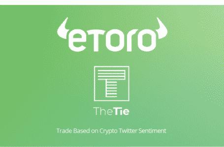 eToro Along With The TIE Launches Crypto Portfolio Based on Twitter Vibes