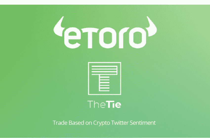 eToro Along With The TIE Launches Crypto Portfolio Based on Twitter Vibes