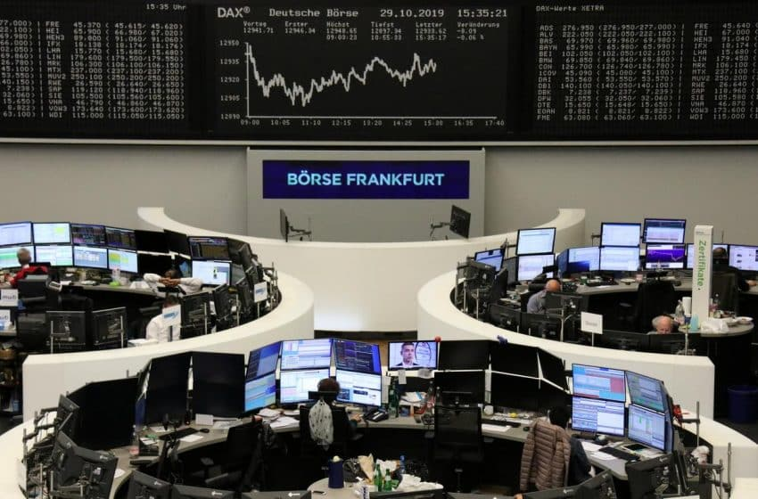 European Shares Hit Highest Levels in Two Years