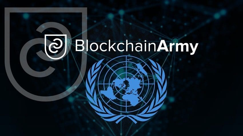 BlockchainArmy Chairman Erol User Discusses Blockchain Applications at UN Geneva