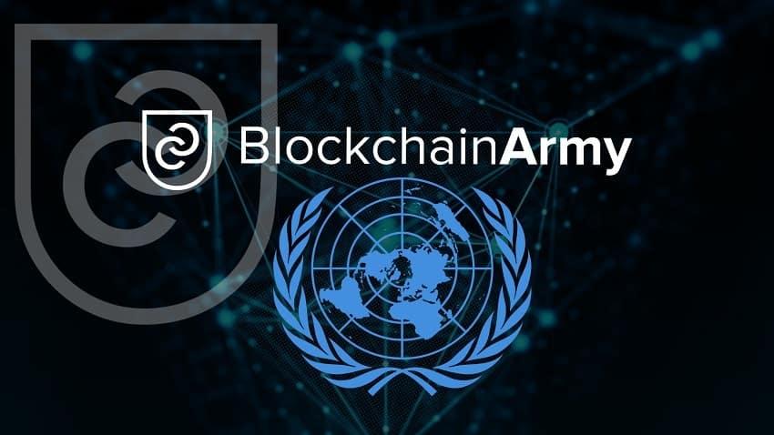 BlockchainArmy Chairman Erol User Discusses Blockchain Applications at UN Geneva