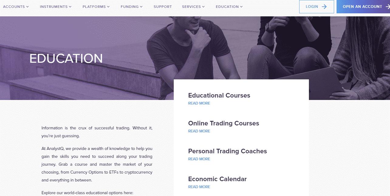 AnalystQ Reviews - Education